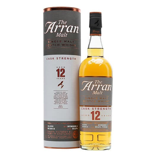 Виски ARRAN 12 YEAR OLD CASK STRENGTH
