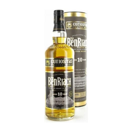 Виски Benriach 10 years Curiositas