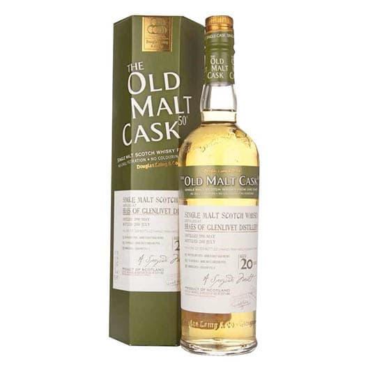 Виски BRAES OF GLENLIVET 20 YEAR OLD