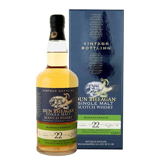 Виски BUNNAHABHAIN 22 YEAR OLD