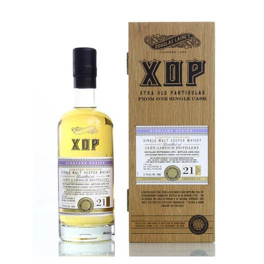 Виски Glen Garioh Xop Xtra Old Partigular 21 Years Old 1993-2015