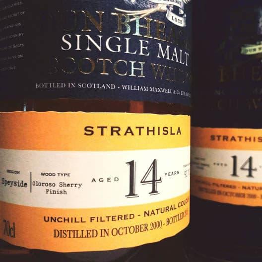Виски STRATHISLA IAN MACLEOD 14 YEAR OLD 2000–2015 Dun Bheagan