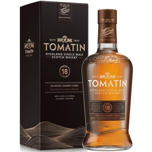 Виски Tomatin 18 y.o.