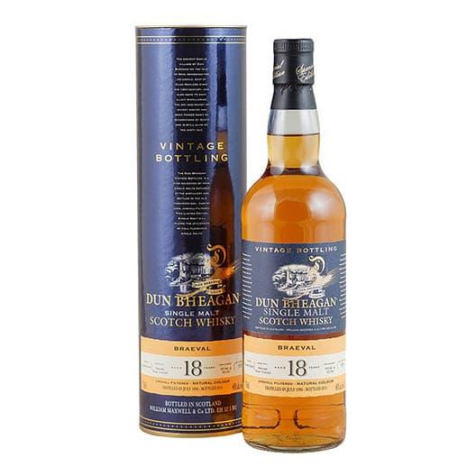 Виски BRAEVAL 18 YEAR OLD 1996-2015 DUN BHEAGAN