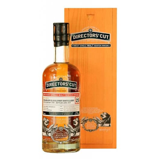 BRAES OF GLENLIVET 25 YEAR OLD 1989–2013 DIRECTORS' CUT