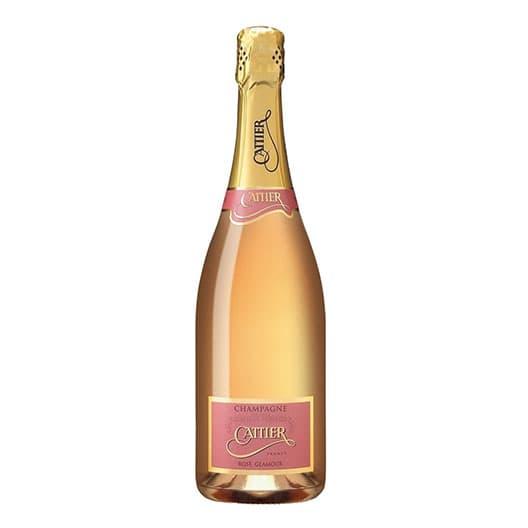 Шампанское Cattier Glamour Rose Champagne AOC