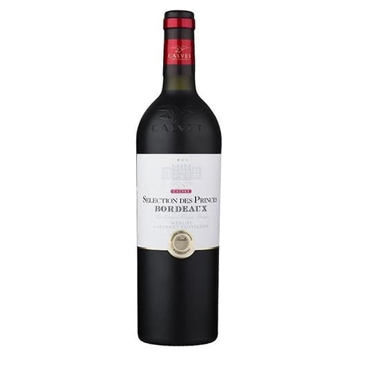 Вино Calvet Selection des Princes Rouge Bordeaux АОP 2015