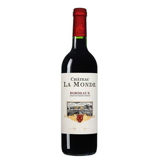 Вино Chateau La Monde Rouge, Bordeaux AOC 2012