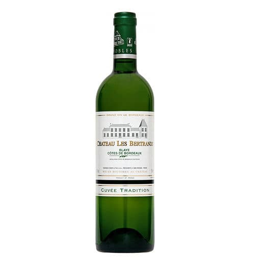 Вино Chateau Les Bertrands Blanc Cuvee Tradition 2013