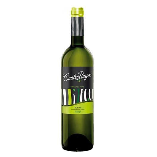 Вино Cuatro Rayas OrganicVerdejo Rueda DO 2016