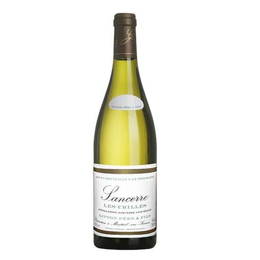 Вино Sancerre AOC Gitton Les Crilles 2015