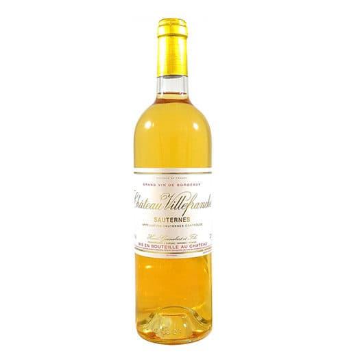 Вино Сhateau Villefranche Sauternes AOC 2015
