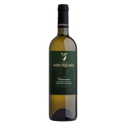 Вино Tenuta Sassoregale Vermentino Maremma Toscana DOC