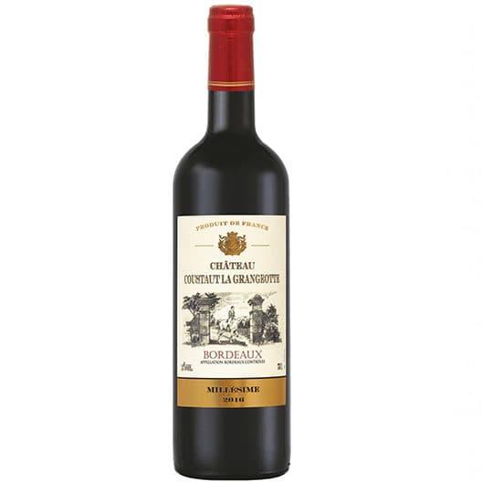 Вино Chateau Coustaut La Grangeotte Rouge Bordeaux AOC