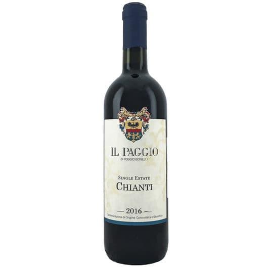"""Вино Poggio Bonelli """"Il Paggio"""" Chianti DOCG"""