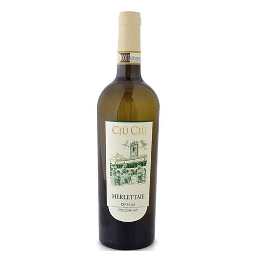Вино Ciu Ciu Merlettaie Pecorino Offida DOCG 2016
