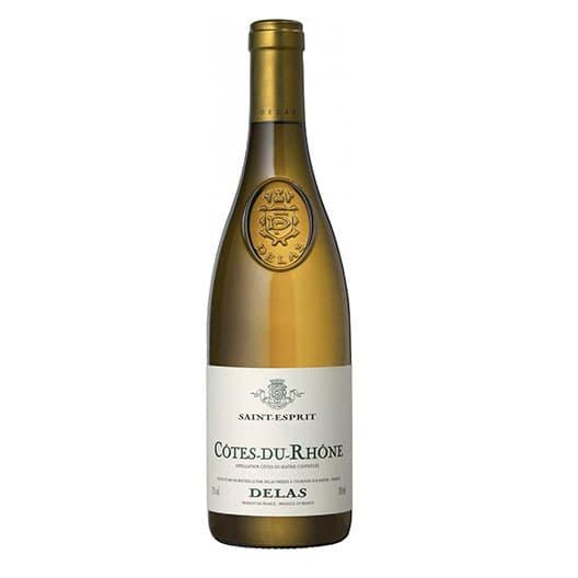 Вино Delas Freres Cotes-du-Rhone Saint-Esprit Blanc AOC