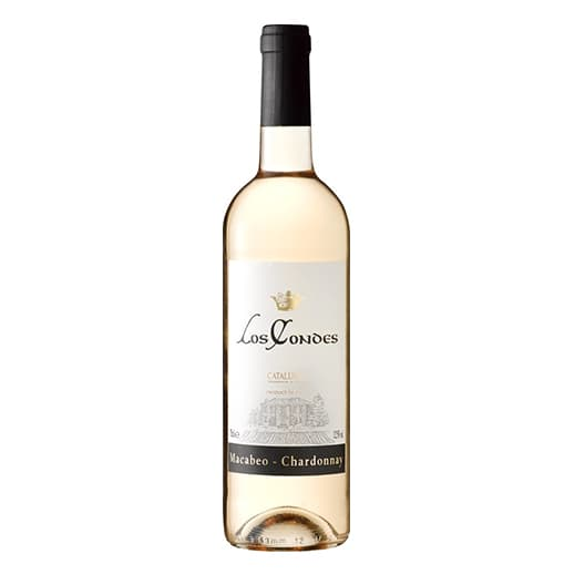 Вино Los Condes Macabeo-Chardonnay Catalunya DO 2014