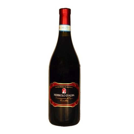 Вино PRODUTTORI DI GOVONE 2011 NEBBIOLO D'ALBA ETICHETTA NERA