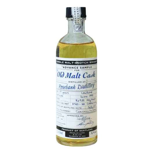 Виски Rosebank 17 Year Old 1990–2007 Old Malt Cask