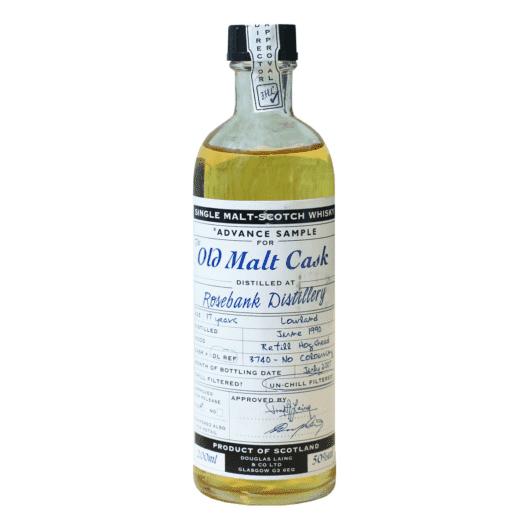 Виски Rosebank 17 Year Old 1990–2007 Old Malt Cask