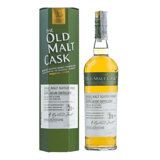 Виски Glencadam 21 Year Old 1990–2012 Old Malt Cask