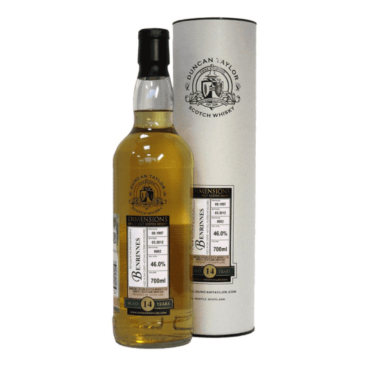 Виски Benrinnes 14 Year Old 1997–2012 Dimensions