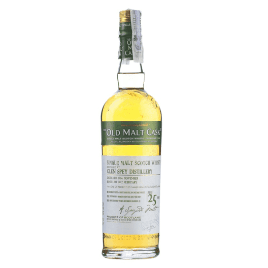 Виски Glen Spey 25 Year Old 1986–2012 Old Malt Cask