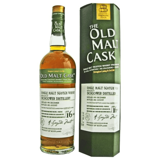 Виски Inchgower 16 Year Old 1995–2012 Old Malt Cask