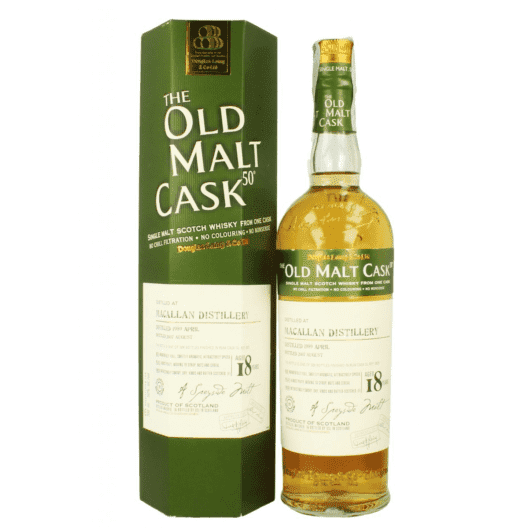 Виски Macallan 18 Year Old 1989–2007 Old Malt Cask