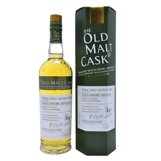 Виски Cragganmore 19 Year Old 1991–2010 Old Malt Cask