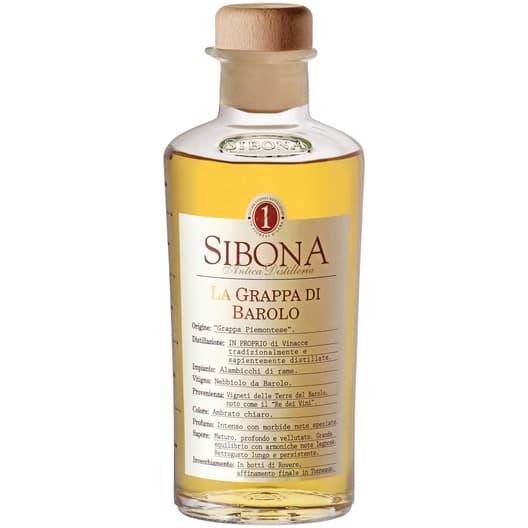 Sibona, La Grappa di Barolo