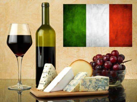 Дегустация вин Италии