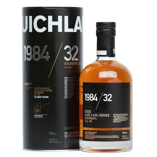Bruichladdich 1984 32 Year Old Rare Cask Series
