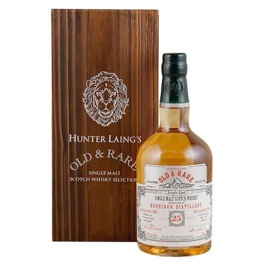 Виски BENRIACH 25 YEAR 1989 - 2014 OLD & RARE SINGLE MALT