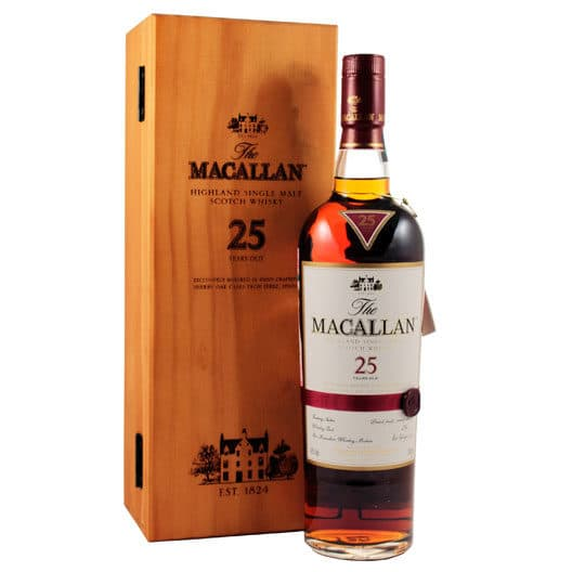 Macallan 25 yo Sherry oak