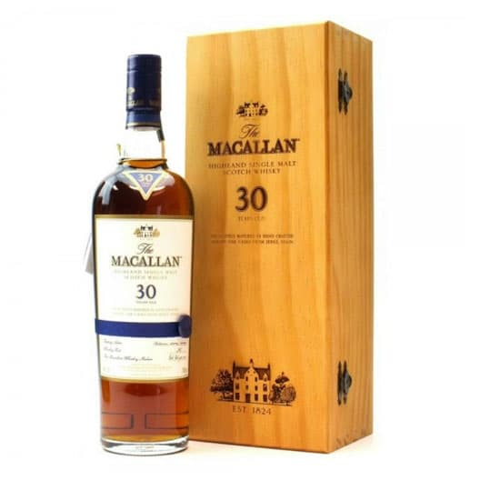 Виски Macallan 30 Years Old Sherry oak