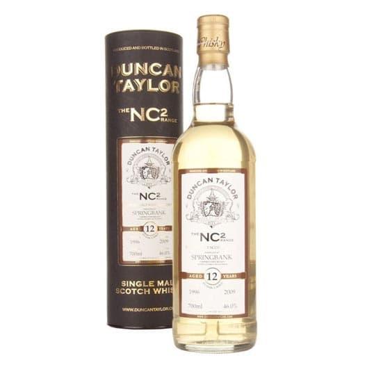 """Виски """"Springbank"""" 12 Years Old, """"NC2"""", 1996"""