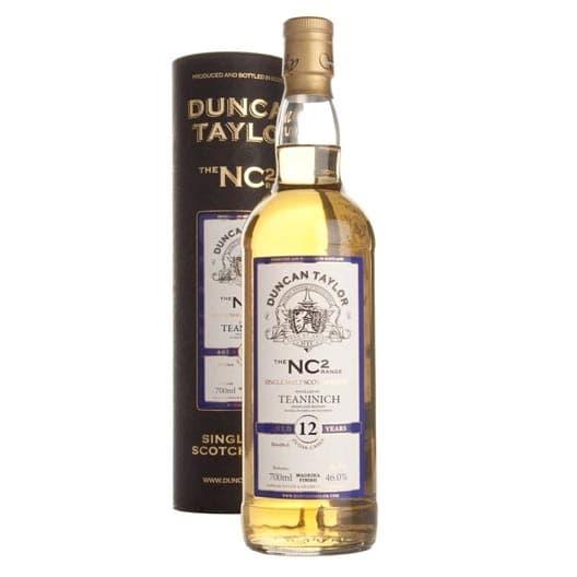 """Виски """"Teaninich"""" 12 Years Old, """"NC2"""", 1996"""