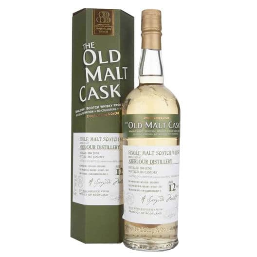 Виски ABERLOUR 12 YEAR 2000 - 2012 OLD MALT CASK SINGLE MALT