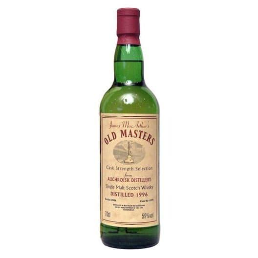 Виски AUCHROISK 10 YEAR 1996 JAMES MACARTHUR SINGLE MALT