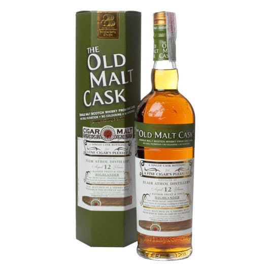 Виски BLAIR ATHOL 12 YEAR 1999 - 2011 OLD MALT CASK SINGLE MALT