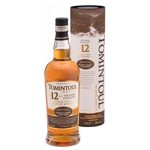 Виски Tomintoul 12 YO, Oloroso Sherry Cask Finish
