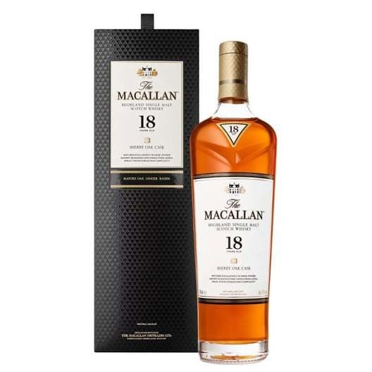 Виски Macallan 18 Years Old Sherry oak