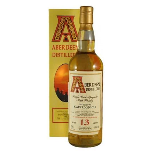 Виски CAPERDONICH 13 YEAR 1996 - 2009 ABERDEEN SINGLE MALT