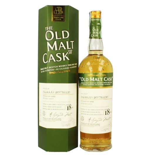 Виски MACALLAN 18 YEAR 1989 - 2007 OLD MALT CASK SINGLE MALT