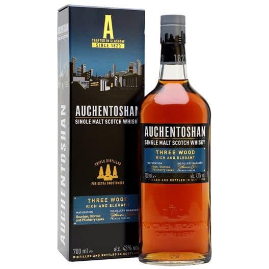 "Виски Auchentoshan, ""Three Wood"""