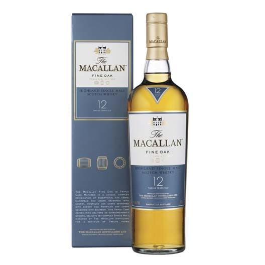 Виски Macallan Fine Oak 12 Years Old 0,5
