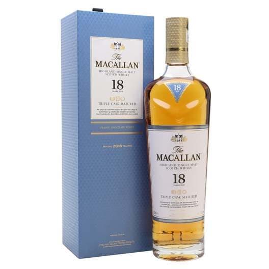 "Виски Macallan, ""Triple Cask Matured"" 18 Years Old 0,7"