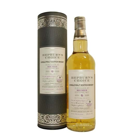 Виски HEPBURN'S CHOICE BEN NEVIS 6 YEAR